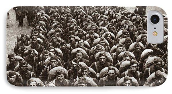 World War I Return Home IPhone Case by Granger