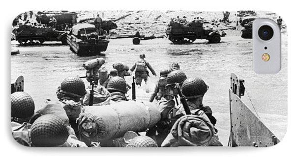 World War II: D-day, 1944 Phone Case by Granger