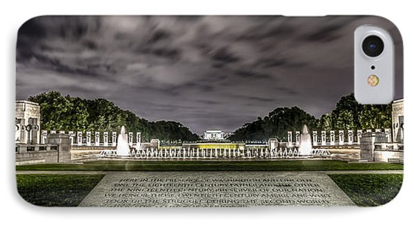 World War II Memorial IPhone Case by David Morefield
