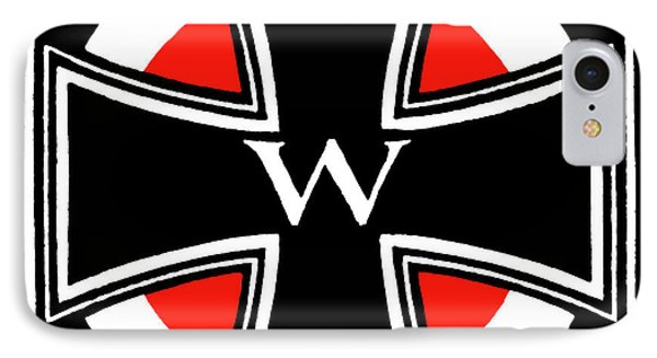 World War One Iron Cross Phone Case by Historic Image