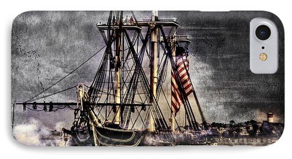 World's Oldest Commissioned Warship Afloat - Uss Constitution Phone Case by Ludmila Nayvelt