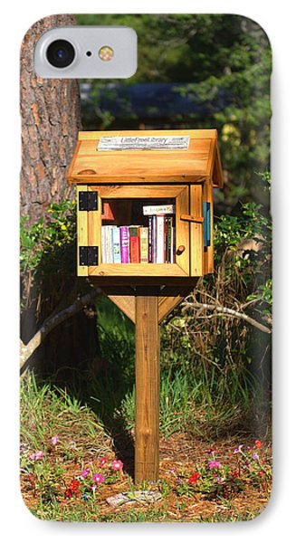 IPhone Case featuring the photograph World's Smallest Library by Gordon Elwell