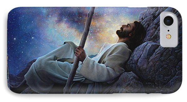 Jesus iPhone 7 Case - Worlds Without End by Greg Olsen