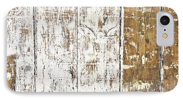 Worn Wood  IPhone Case by Tom Gowanlock