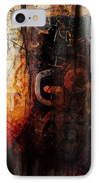 Wounded  IPhone Case by Gary Bodnar