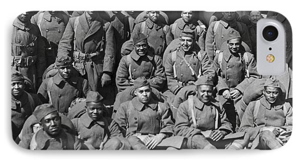Wounded Soldiers Return IPhone Case by Underwood Archives