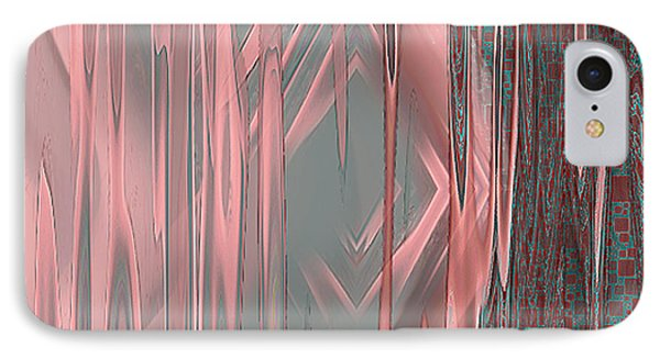 IPhone Case featuring the digital art Wounds - Abstract Art By Giada Rossi by Giada Rossi