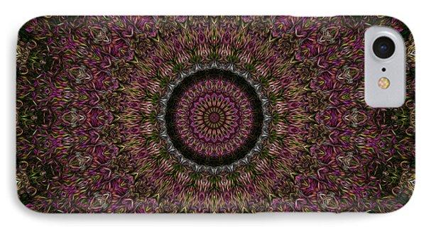 Woven Kaleidoscope Phone Case by R McLellan