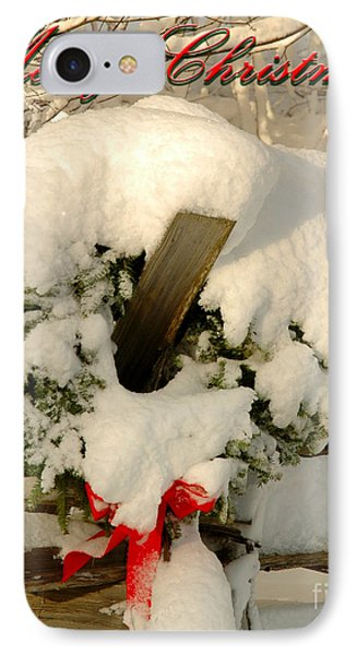 IPhone Case featuring the photograph Wreath  by Alana Ranney