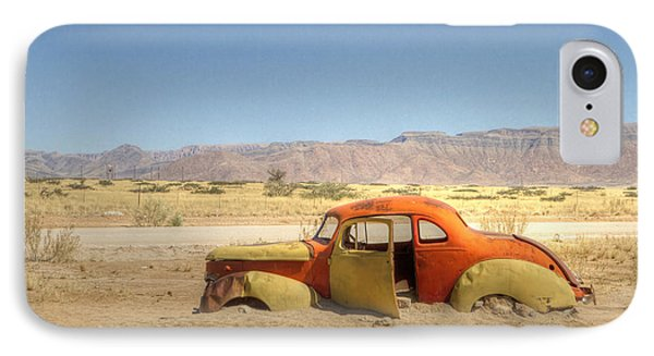 Wreck On The Highway IPhone Case by Juergen Klust