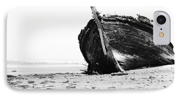 Wreckage On The Bay Phone Case by Marco Oliveira