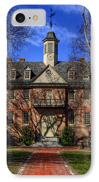 Wren Building Main Entrance IPhone Case by Jerry Gammon