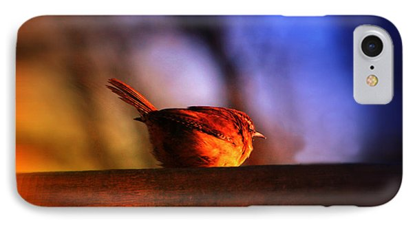 Wren In Early Morning's Light - Featured In In Newbies-nature Wildlife- Comfortable Art Groups Phone Case by EricaMaxine  Price