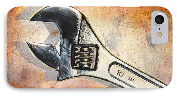 Wrenched IPhone Case by Karl Melton