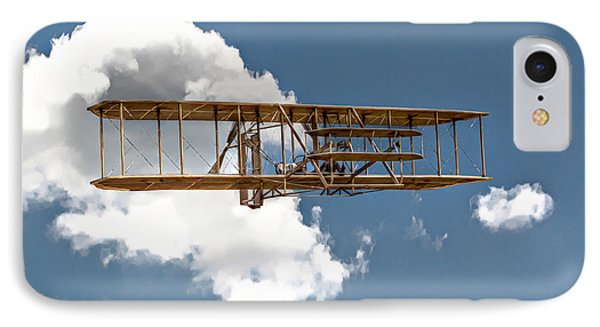 Wright Brothers First Flight Phone Case by Randy Steele