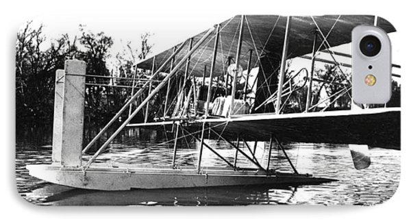 Wright Seaplane, 1913 IPhone Case