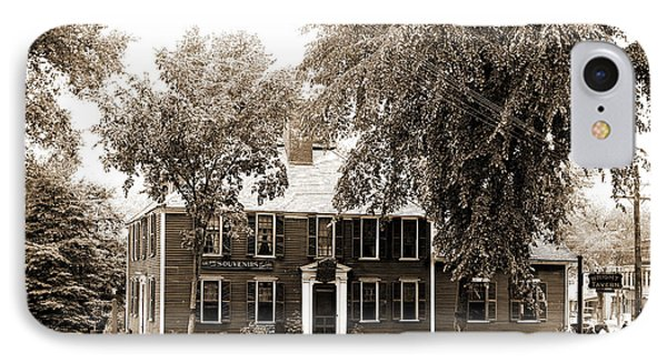 Wright Tavern, Concord, Mass, Taverns Inns IPhone Case by Litz Collection