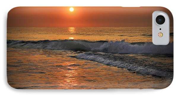 IPhone Case featuring the photograph Wrightsville  Beach Sunrise by Phil Mancuso