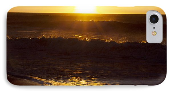Wrightsville Beach Sunrise IPhone Case by William Love