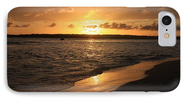 IPhone Case featuring the photograph Wrightsville Beach Sunset - North Carolina by Mountains to the Sea Photo