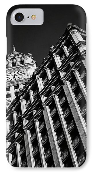 Wrigley Building - 05.16.10_144 Phone Case by Paul Hasara