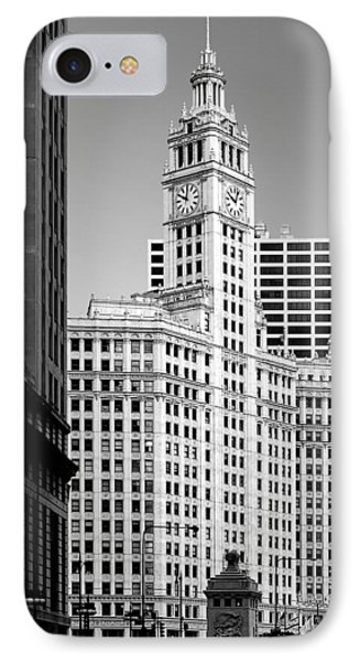 Wrigley Building - A Chicago Original Phone Case by Christine Till