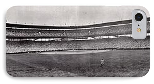 Wrigley Field 1929 Panorama Phone Case by Benjamin Yeager