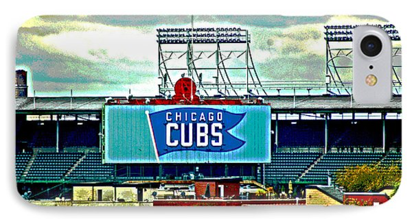 Wrigley Field Chicago Cubs IPhone Case