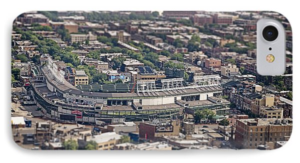 Wrigley Field iPhone 7 Case - Wrigley Field - Home Of The Chicago Cubs by Adam Romanowicz