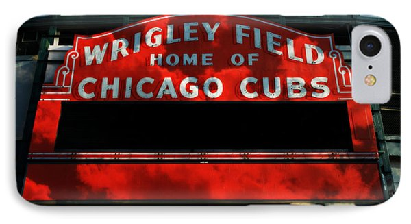 Wrigley Field Sign -- No.1 IPhone Case by Stephen Stookey