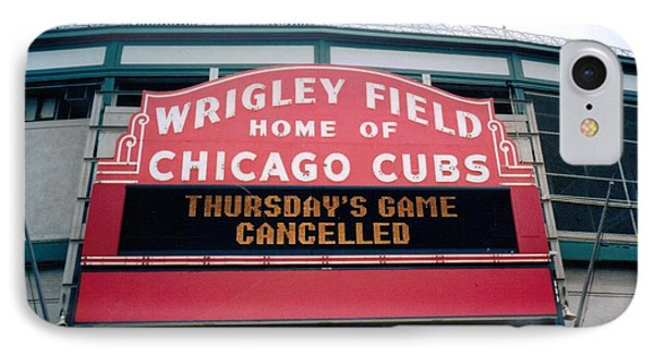 Wrigley Field Weeps For America IPhone Case by Sheri Keith