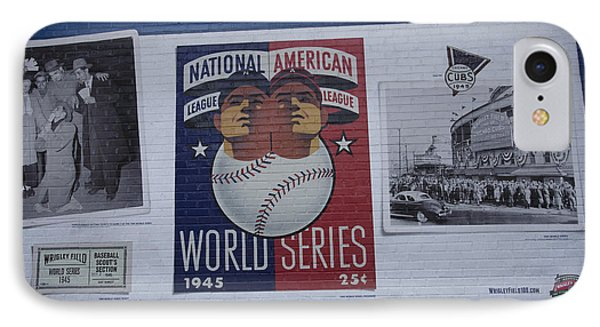Wrigley Images - 1945 IPhone Case by David Bearden