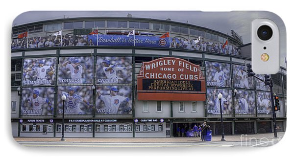 Wrigley's New Wallpaper IPhone Case by David Bearden