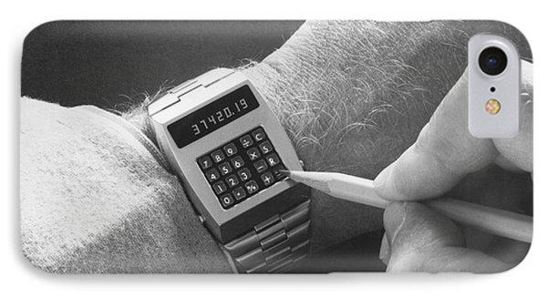 Wristwatch Calculator IPhone Case