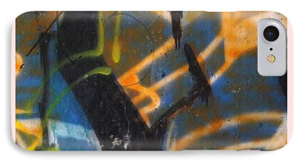 Writing On The Wall 2 Phone Case by Sara  Raber