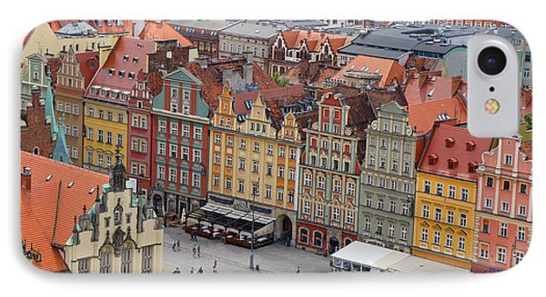 Wroclaw Phone Case by Kees Colijn