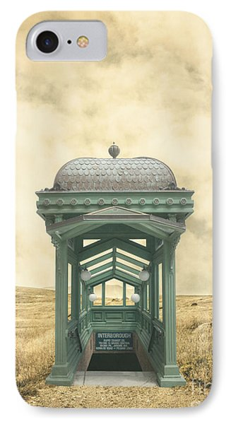 Wrong Train Right Station IPhone Case by Edward Fielding