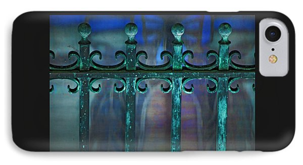 IPhone Case featuring the photograph Wrought Iron by Rowana Ray