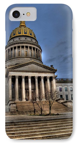 Wv Capital Building 2 IPhone Case by Jonny D