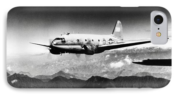 Ww II: Transport Aircraft IPhone Case by Granger