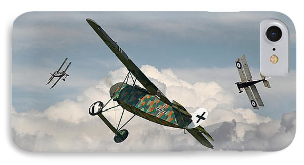 Ww1 - Spoiled For Choice Phone Case by Pat Speirs