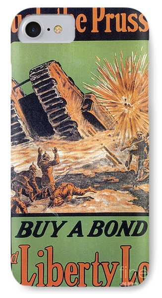 Wwi, 3rd Liberty Loan, 1917 IPhone Case by Photo Researchers