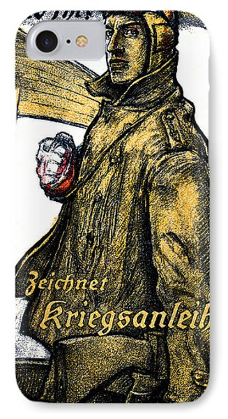 Wwi German Aviation War Bond Poster Phone Case by Historic Image