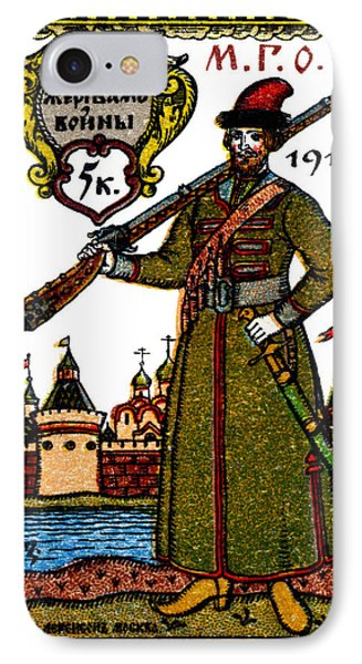 Wwi Russian War Bond Poster Phone Case by Historic Image