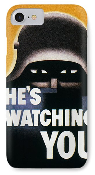 Wwii: Propaganda Poster Phone Case by Granger