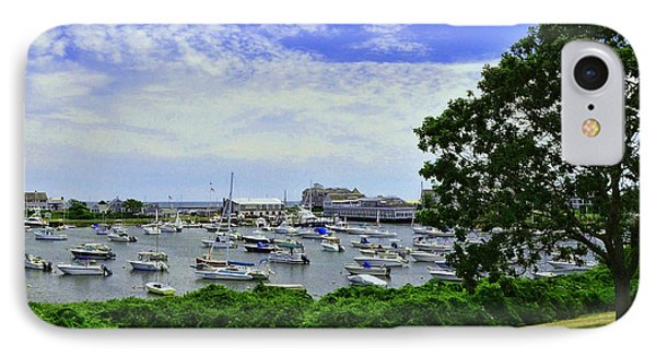 Wychmere Harbor IPhone Case by Allen Beatty