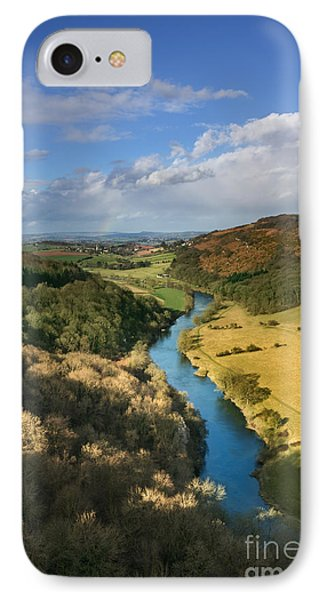 Wye Valley From Symonds Yat IPhone Case by Rod McLean