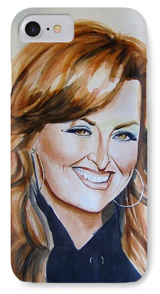 Wynonna Judd Phone Case by Brian Degnon