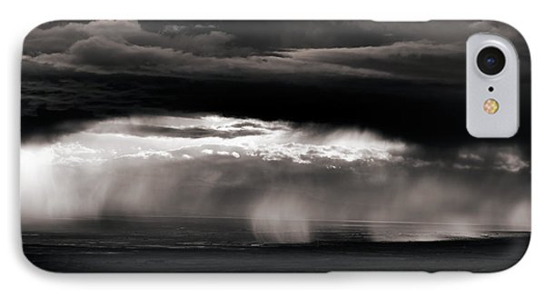 Wyoming Rain IPhone Case by Leland D Howard