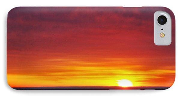 Wyoming Sunrise IPhone Case